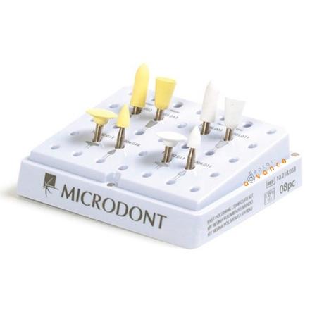 Kit de Polimento Rapido de Resina com 8 - Microdont