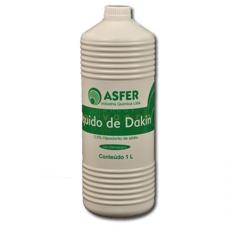 Líquido de Dakin 0,5% 1000ml - Asfer