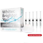 PolaDay 9,5% Kit com 5 seringas - SDI