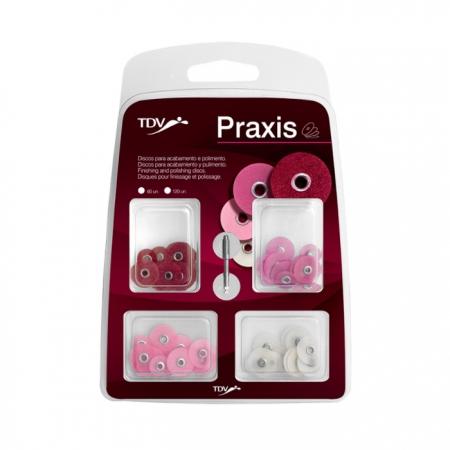 Praxis Kit - Disco Lixa  - TDV