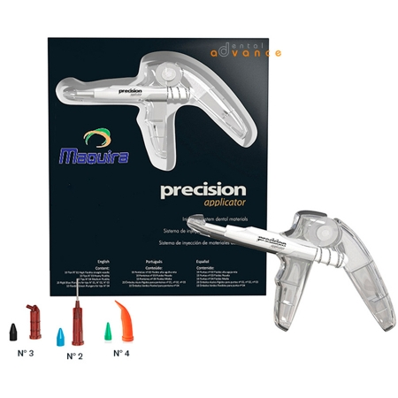 Precision Kit Pistola+30 Pontas tipo centrix - Maquira