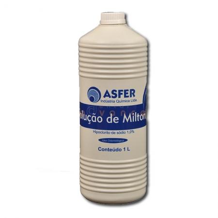 Solução de Milton 1% 1000ml - Asfer