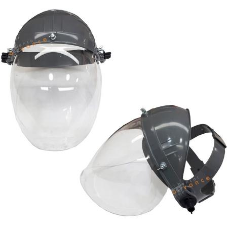 Viseira - Protetor Facial Incolor com Catraca - CA 12376