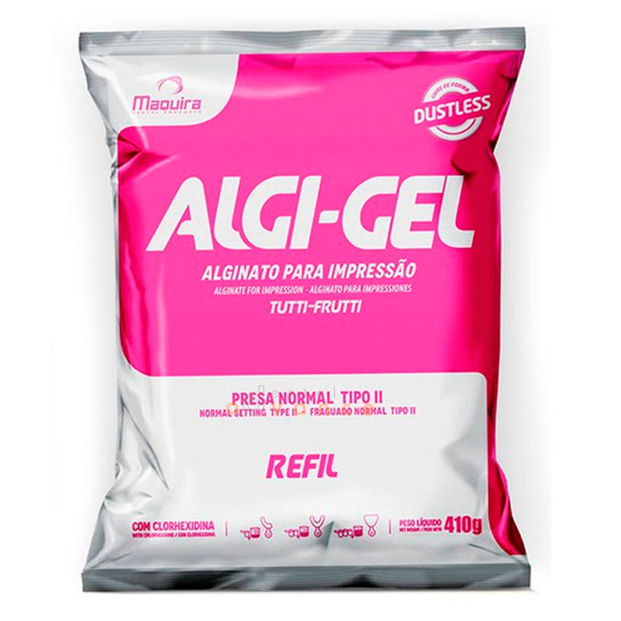 Alginato Algi-gel 410g - Maquira
