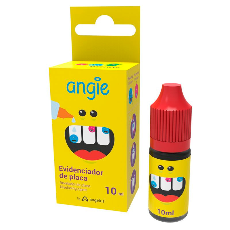 Angelus Evidenciador de Placa 10ml  - Dental Advance