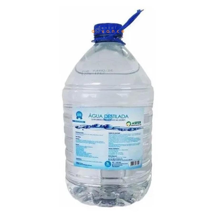 Asfer Água Destilada 5000ml  - Dental Advance