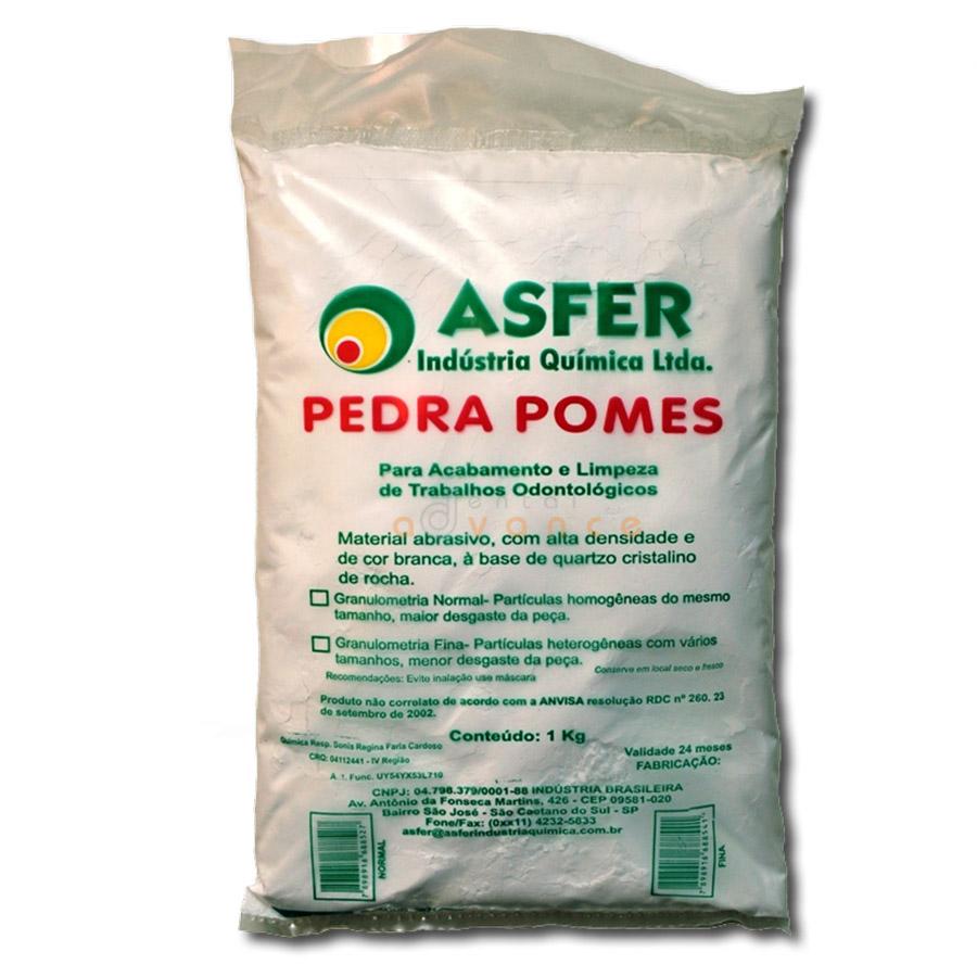 Asfer Pedra Pomes 1kg normal  - Dental Advance