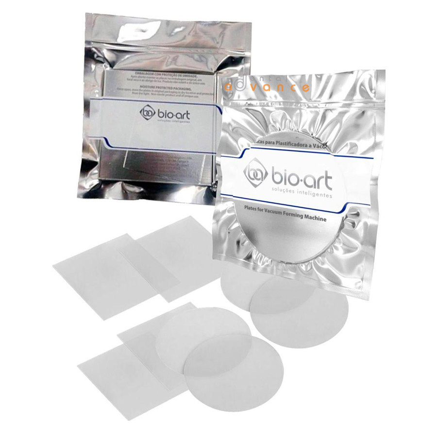 Bio-art Placa Cristal - Acetato  - Dental Advance