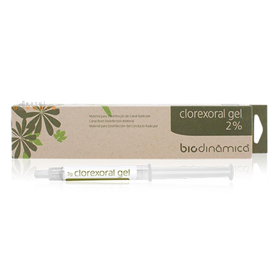 Biodinâmica Clorexidina Clorexoral Gel 2 seringas de 3g  - Dental Advance