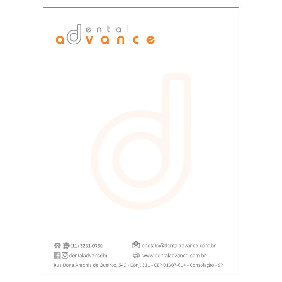 Bloquinho de Rascunho - Dental Advance