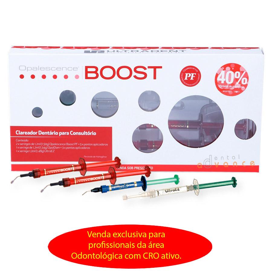Clareador Opalescence BOOST PF 40% Kit - Ultradent
