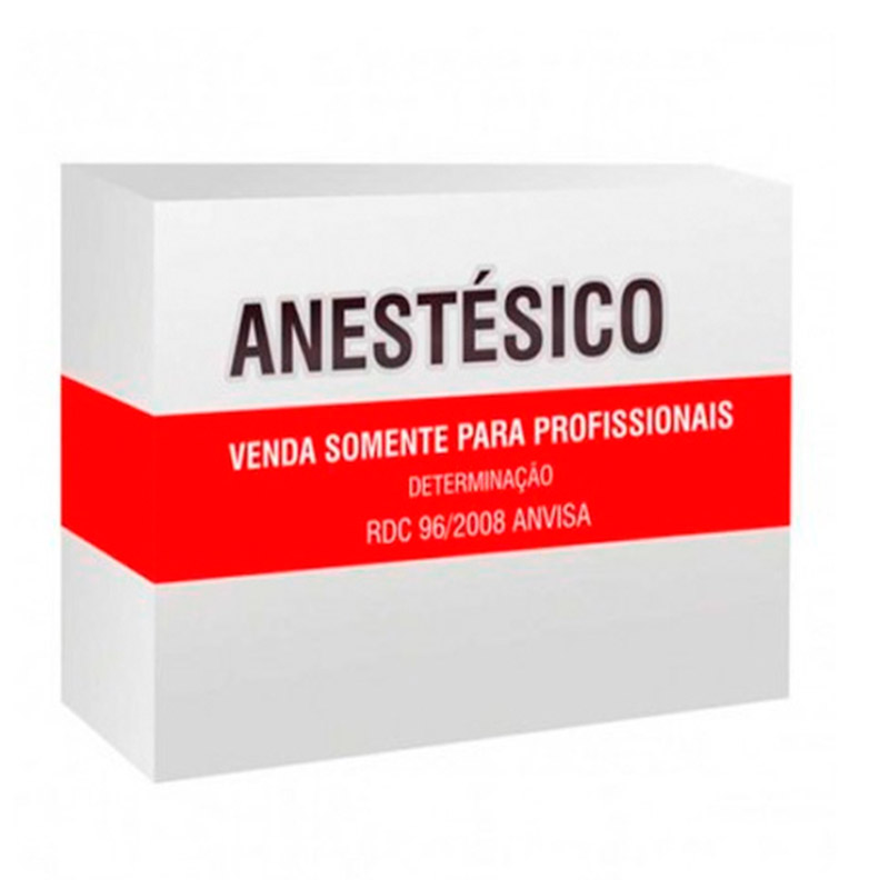 Cristália Anestésico Xylestesin 2% com vaso 10 Frasco x 20ml  - Dental Advance