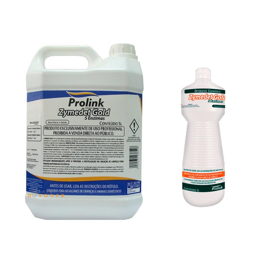 Detergente Enzimático 5 enzimas