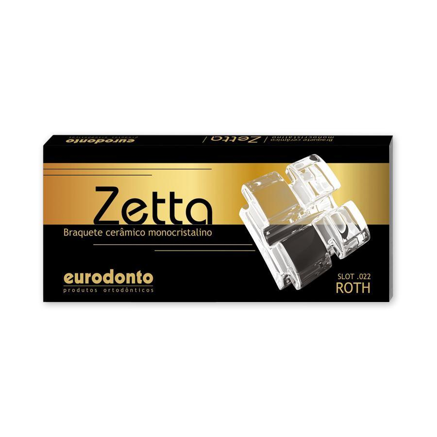 Eurodonto 21011-C-P Bráquete Zetta Roth Conj  - Dental Advance