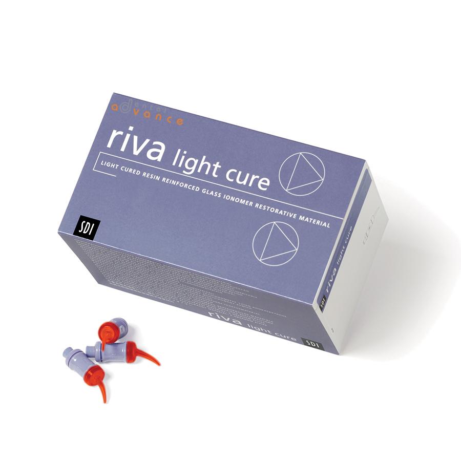 Ionômero Riva Light Cure A2 com 50 cápsulas - SDI