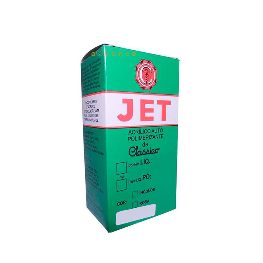 Jet Pó 220g Incolor - Clássico