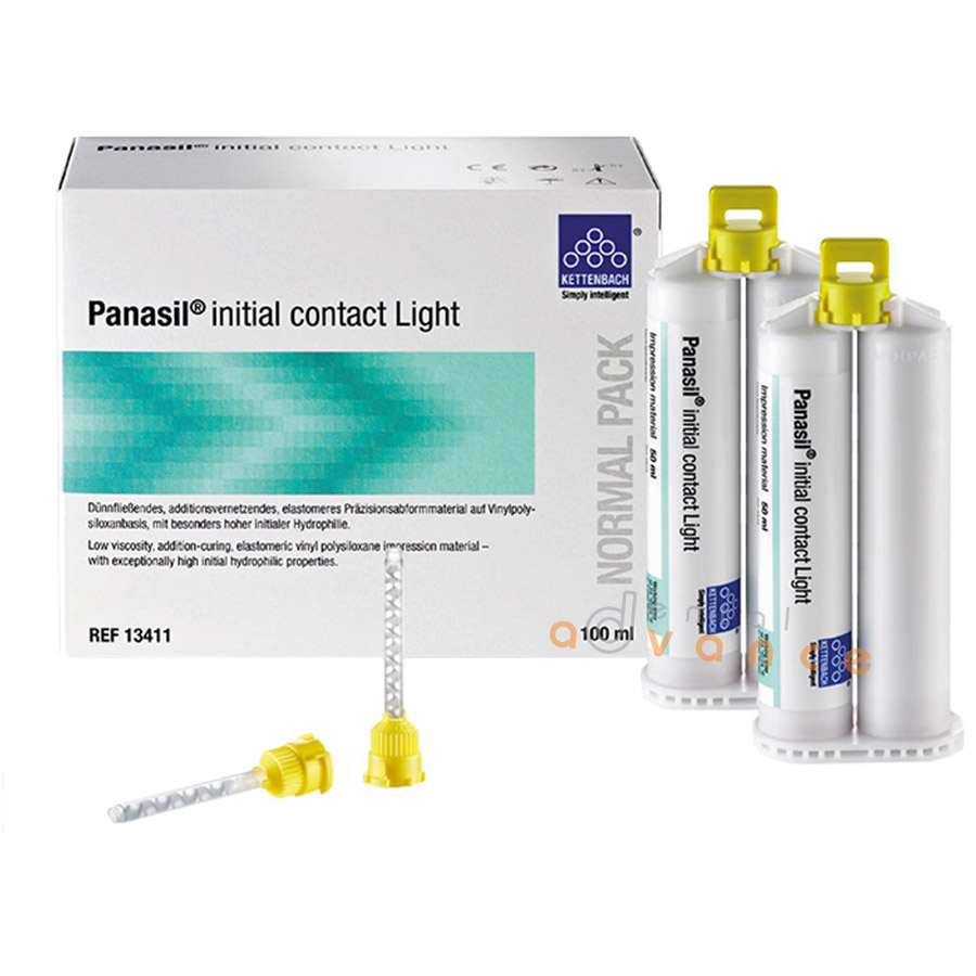 Kettenbach Panasil Initial Contact Light Normal Pack 2x50ml