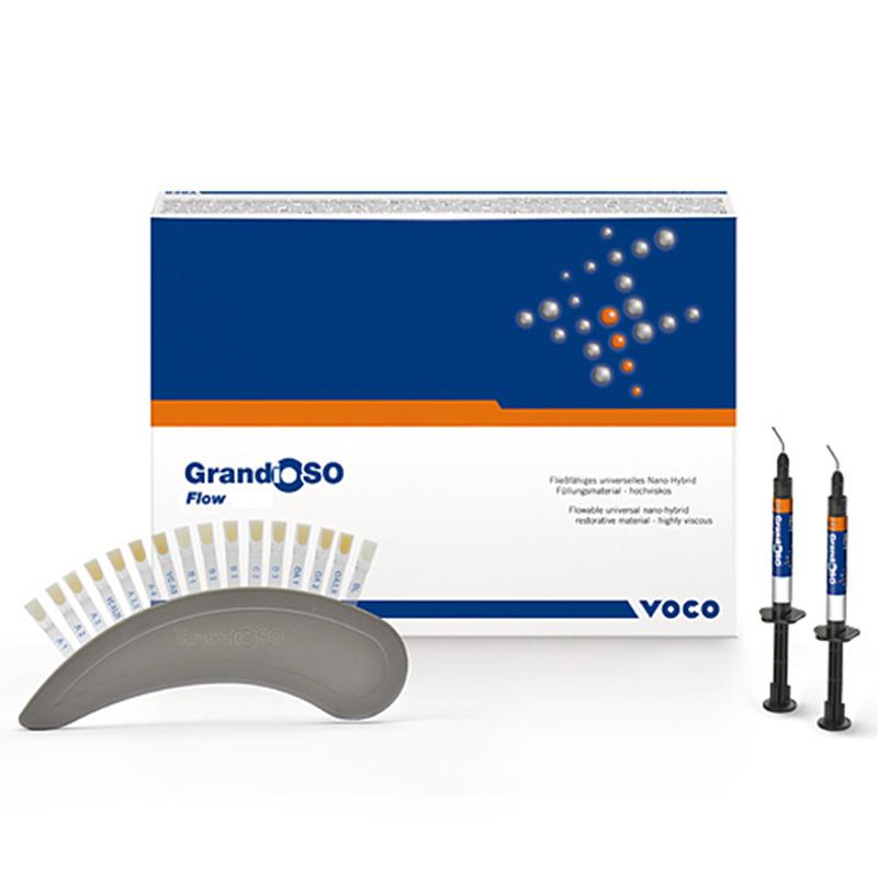 Kit Resina GrandioSO Flow Set 5 x 2g - Voco