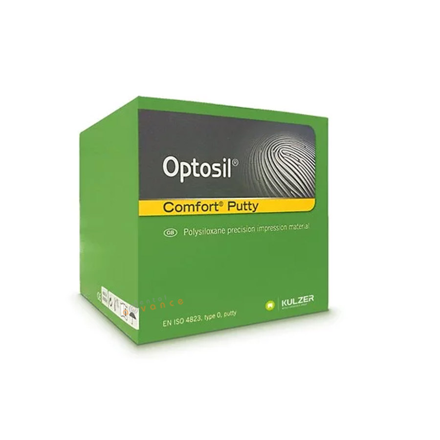 Kulzer Silicone de Condensação Optosil Comfot Putty 450g  - Dental Advance