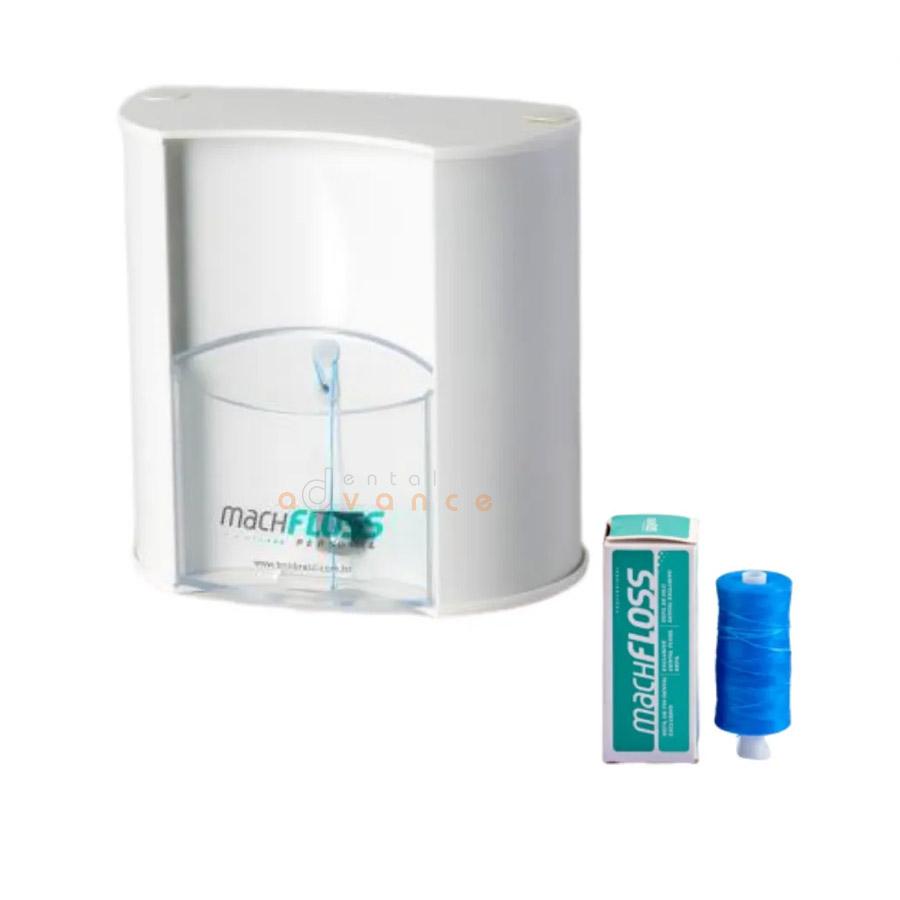 Machfloss Dispenser Personal Plástico para Fio Dental