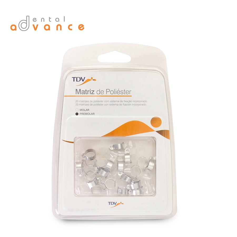 Matriz Poliéster Molar e Pré-Molar - TDV  - Dental Advance