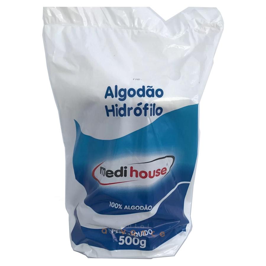 Medihouse Algodão Rolo Hidrofílico 500g  - Dental Advance