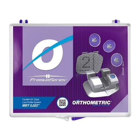 Orthometric 10.21.2000 Bráquete Premium Series Mbt Conj  - Dental Advance