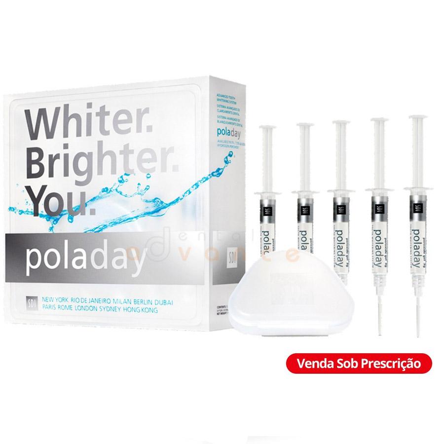 PolaDay 7,5% Kit com 5 seringas - SDI