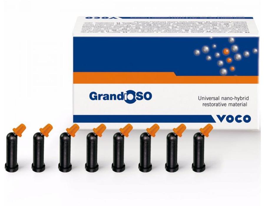 Resina GrandioSO Caps 2 x 0,25g - Voco