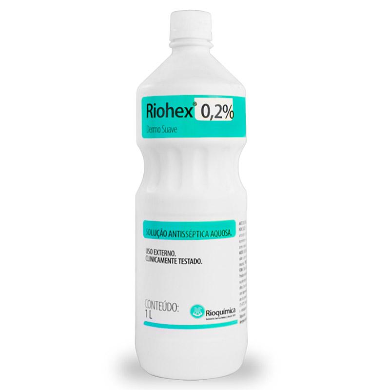 Riohex 0,2% Solução Aquosa 1000ml - Rioquímica