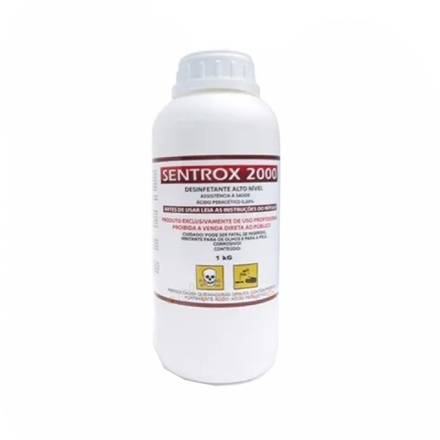 Sentrox Ácido Peracético 1 litro  - Dental Advance