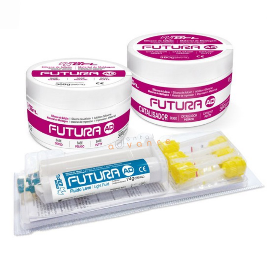 Silicone de Adição Futura Kit com Fluido Light - DFL