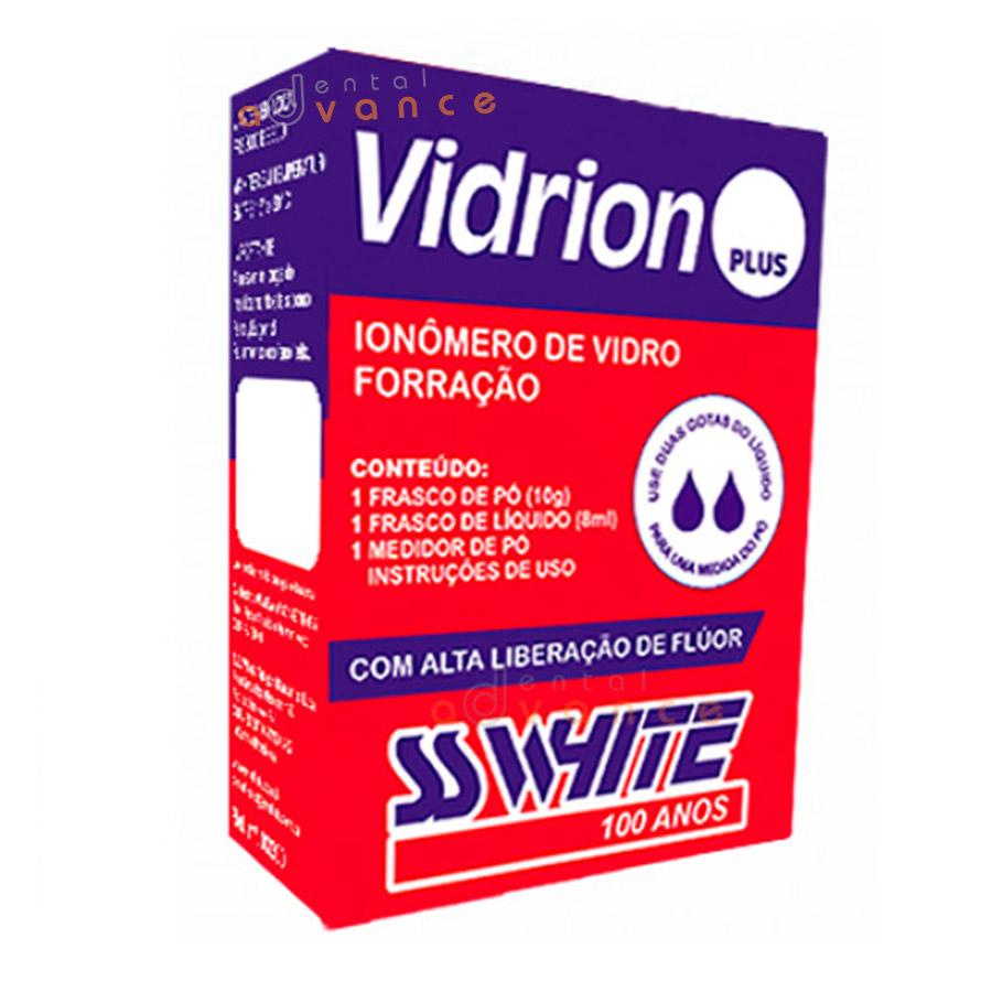 SSWhite Ionômero Vidrion Plus C Kit 15g + 10ml  - Dental Advance