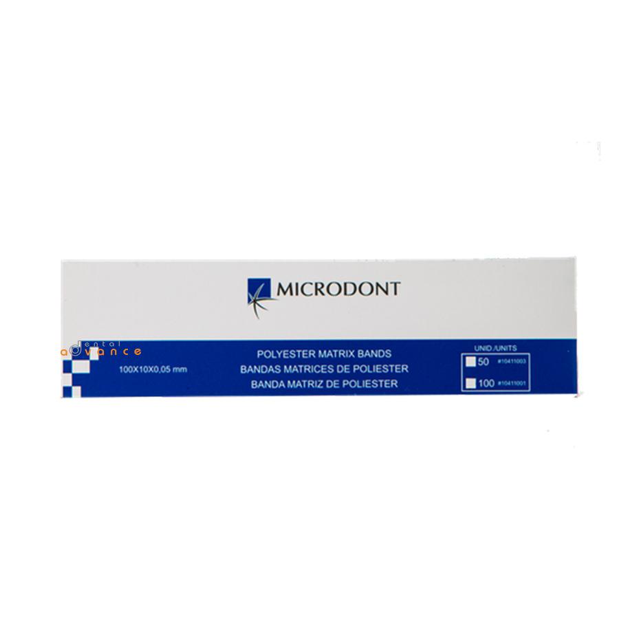 Tira Poliéster com 50 unidades - Microdont