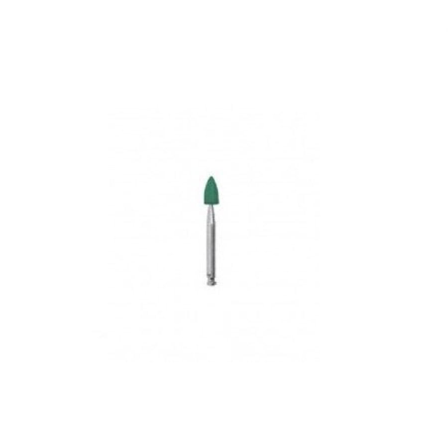 Torpedo em Silicone Verde para Acabamento - Microdont