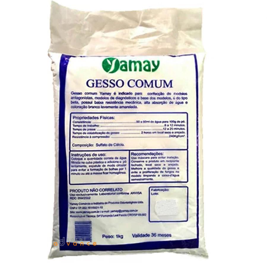Yamay Gesso Comum 1kg  - Dental Advance