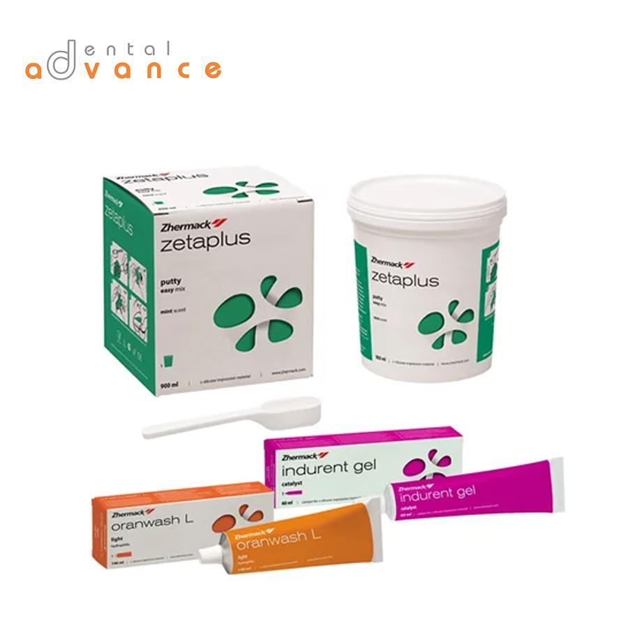 Zhermack Zetaplus Kit com pesado de 900ml  - Dental Advance