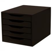 Caixa de Arquivo com 5 Gavetas Souza - Tabaco