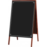 Cavalete de Calçada com Quadro Negro 70x50cm - Souza Decor 2