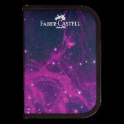 Estojo Escolar com 18 Materiais Faber-Castell Cosmic  - 18.2221