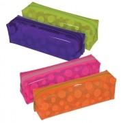 Estojo Plástico Translúcido DAC Color Circles