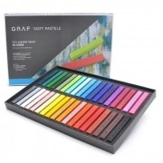 Giz Pastel Seco com 36 Cores CIS Graf Soft Pastels