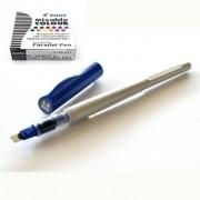 Kit - Caneta Caligráfica Pilot Parallel Pen 6.0mm + 12 Cartuchos de Recarga