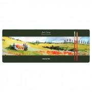 Lápis de Cor Aquarela Profissional com 48 Cores Compactor Art Color