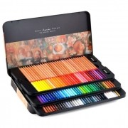 Lápis de Cor Profissional com 100 Cores Compactor Art Color