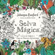 Livro de Colorir Antiestresse Selva Mágica
