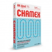 Resma de Papel Sulfite Chamex Office A4 Azul com 500 Folhas