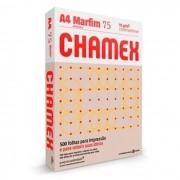 Resma de Papel Sulfite Chamex Office A4 Marfim com 500 Folhas
