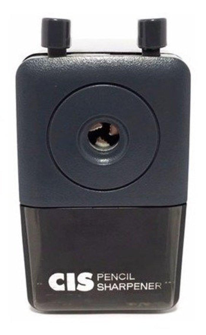 Apontador de Mesa com Lixeiro CIS PR01 Preto