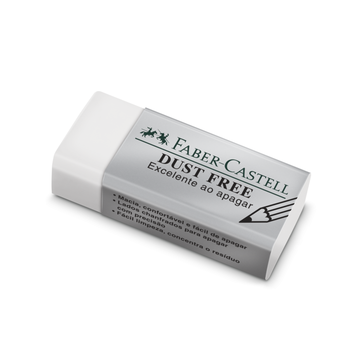 Borracha Técnica Faber-Castell Dust Free 187129 Branca